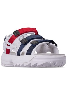Fila Women's Disruptor Athletic Sandals from Finish Line