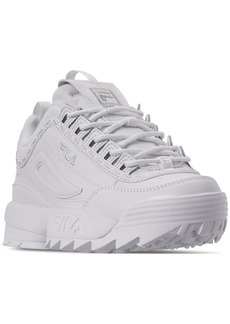 Fila Women's Disruptor Ii Premium Repeat Casual Athletic Sneakers from Finish Line