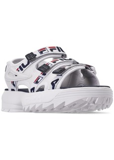 Fila Women's Disruptor Logo Athletic Sandals from Finish Line
