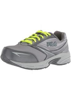 Fila Women's Memory Reckoning 8 Slip Resistant Steel Toe Running Shoe Food Service  6 B US