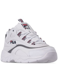Fila Women's Ray Casual Athletic Sneakers from Finish Line