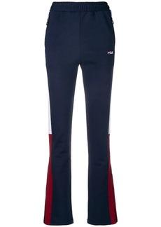 Fila flared track trousers