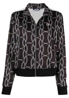 Fila graphic print sports jacket