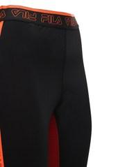 Fila High Waist Logo Leggings
