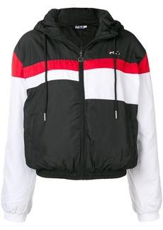 Fila hooded bomber jacket