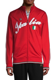 Fila Italia Stripe-Details Jacket