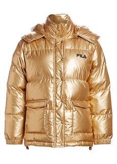 Fila Kinsley Metallic Puffer Jacket