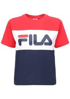 Fila Logo Cotton Jersey T-shirt