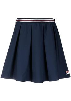 Fila logo-patch A-line skirt