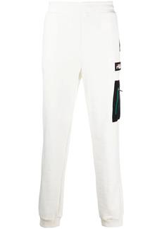 Fila logo-patch track trousers