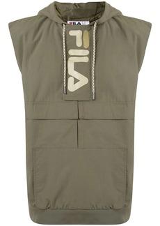 Fila logo print cargo vest