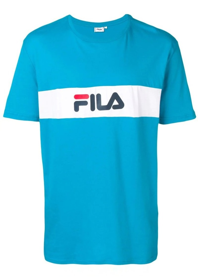 412348bc Fila logo print T-shirt | T Shirts
