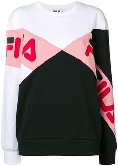 Fila logo printed sweatshirt