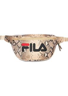 Fila Logo Snake Print Belt Bag
