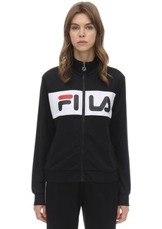 Fila Logo Stripe Zip-up Techno Track Top