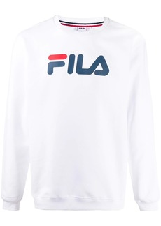 Fila logo-print round-neck sweatshirt