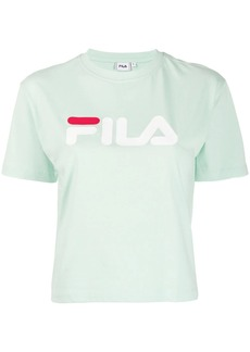 Fila logo cropped T-shirt