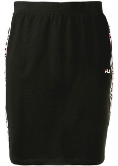 Fila logo trim skirt