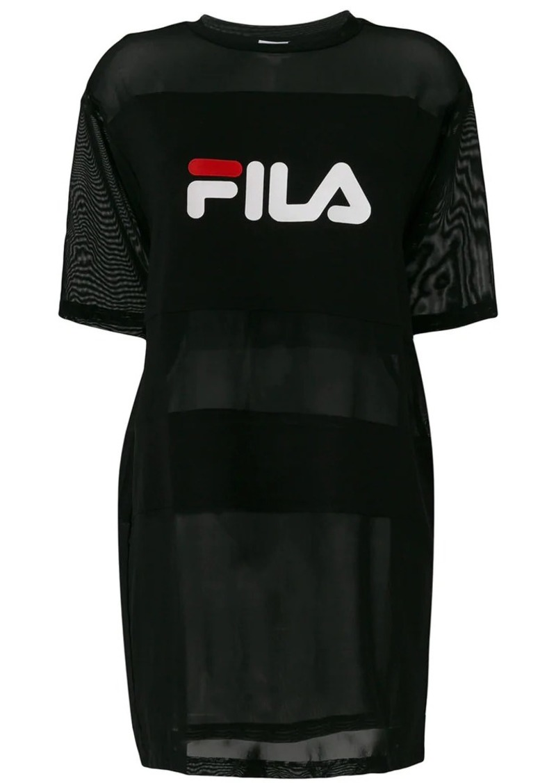Fila long line logo T-shirt