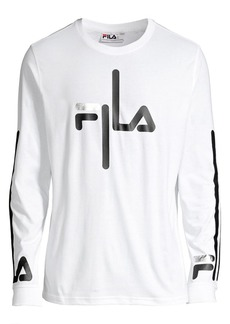 Fila Long-Sleeve Logo T-Shirt