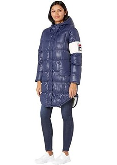 Fila Luisa Quilted Puffer Jacket