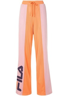 Fila mesh panelled track pants