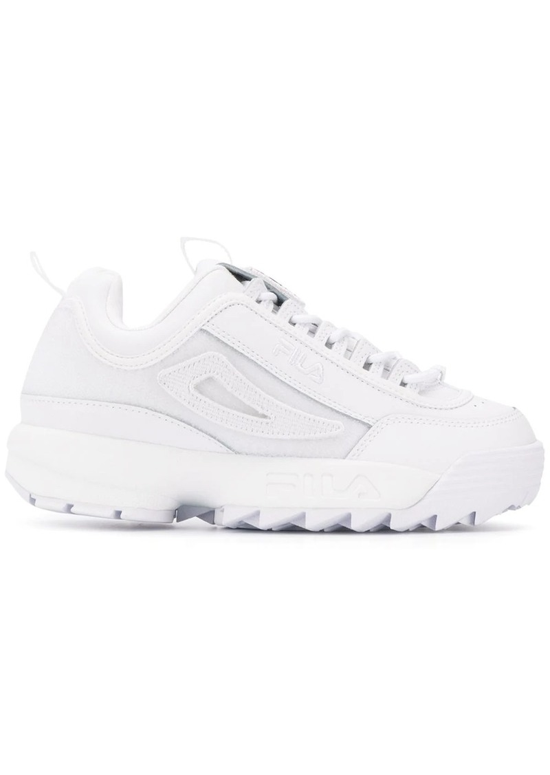 Fila perforated detail sneakers