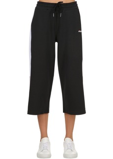 Fila Richelle Cropped Wide Leg Sweatpants
