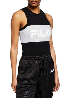 Fila Riley Stretch-Cotton Bodysuit