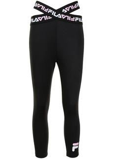 Fila Rubie logo strap leggings