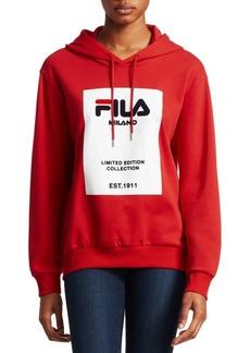 Fila Runway Milano Logo Hoodie