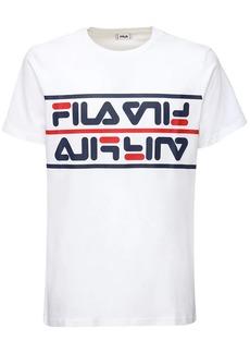 Fila Salman Logo Cotton T-shirt