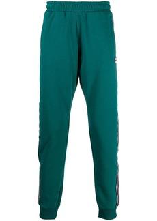 Fila side-stripe tapered track pants