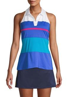 Fila Striped Sleeveless Polo