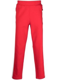 Fila striped straight-leg track pants