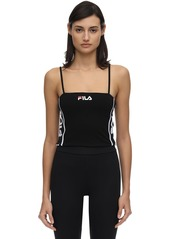 Fila Takoda Stretch Cotton Crop Top