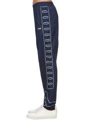 Fila Vanessa Logo Nylon Wind Breaker Pants