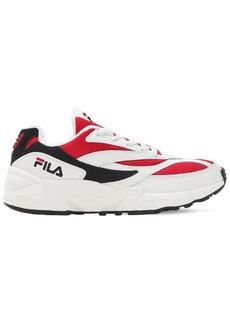 Fila Venom Mesh & Leather Sneakers