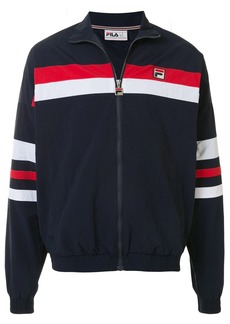 Fila zip-through block striped jacket