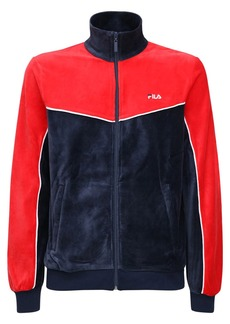 Fila Zip-up Chenille Track Top