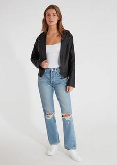 findersKEEPERS Bianca Vegan Leather Moto Jacket - XL - Also in: XS, M, S, L