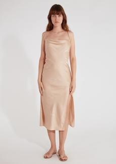 findersKEEPERS Cristina Slip Midi Dress - L - Also in: XL