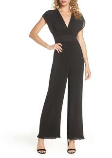 findersKEEPERS Finders Keepers Adeline Wide Leg Plissé Jumpsuit