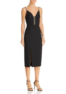 findersKEEPERS Finders Keepers Advance Body-Con Midi Dress