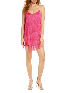findersKEEPERS Finders Keepers Ana Fringe Minidress