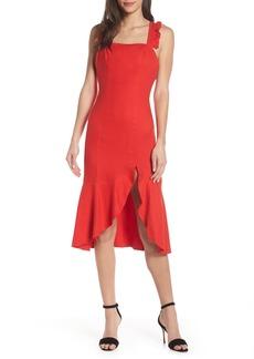 findersKEEPERS Finders Keepers Aranciata Midi Dress