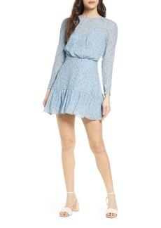 findersKEEPERS Finders Keepers Blossom Long Sleeve Minidress