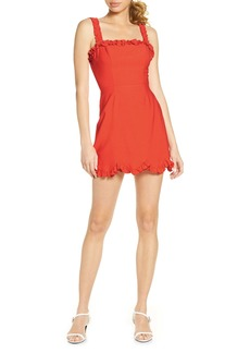 findersKEEPERS Finders Keepers Chiquita Ruffle Minidress
