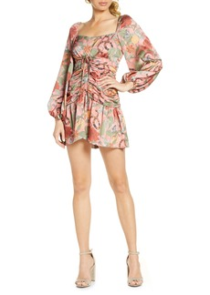 findersKEEPERS Finders Keepers Elisa Long Sleeve Minidress