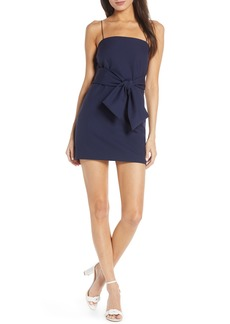 findersKEEPERS Finders Keepers Essie Tie Waist Minidress